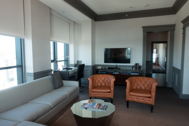 Free upgrade into the Penthouse suite... during sold-out San Diego Comic-Con!
